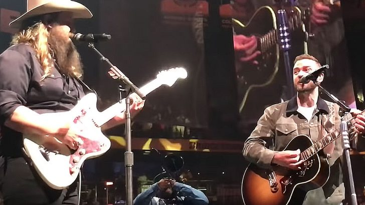 Justin timberlake counts to 3 and chris stapleton s for Tennessee whiskey justin timberlake